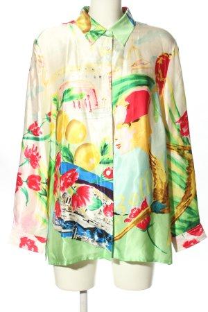 Alba Moda Blusa-camisa estampado con diseño abstracto look casual