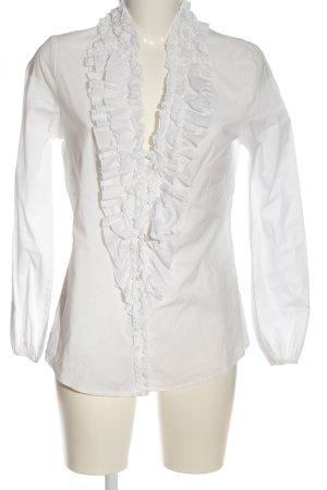 Alba Moda Blouse-chemisier blanc style d'affaires