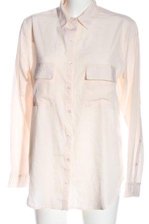 Alba Moda Koszulowa bluzka kremowy W stylu casual