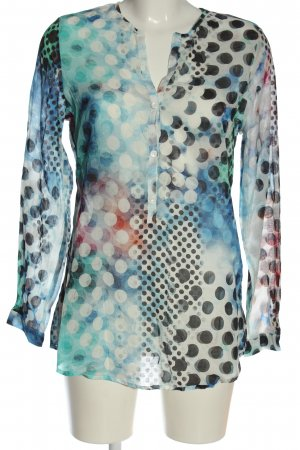 Alba Moda Blouse-chemisier imprimé allover style d'affaires