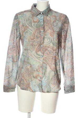 Alba Moda Shirt Blouse abstract pattern elegant