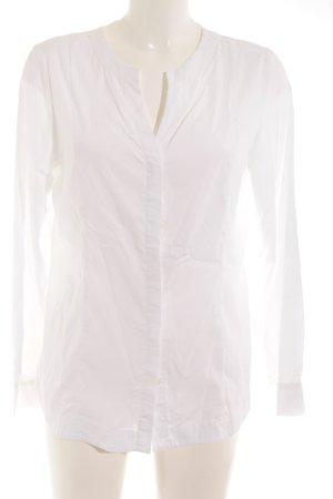 Alba Moda Hemd-Bluse weiß schlichter Stil