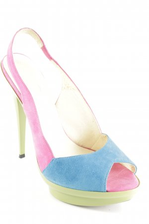 Alba Moda High Heel Sandaletten mehrfarbig Party-Look