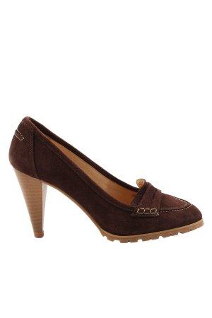 Alba Moda High Heels braun Casual-Look