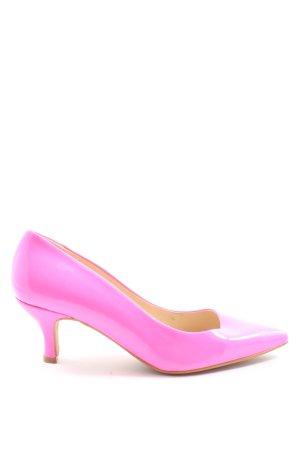 Alba Moda Hoge hakken roze wetlook