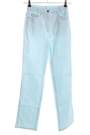 Alba Moda High Waist Trousers turquoise casual look