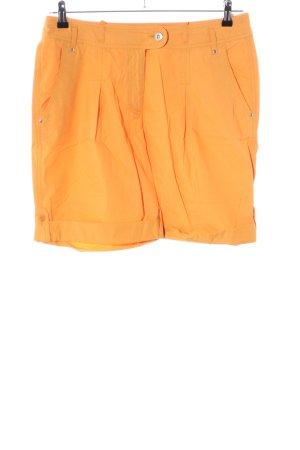 Alba Moda High-Waist-Shorts hellorange Casual-Look