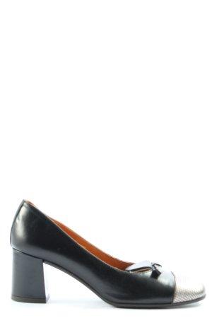 Alba Moda Tacones de plataforma negro-color plata look casual