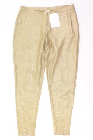 Alba Moda Spodnie złoto Bawełna