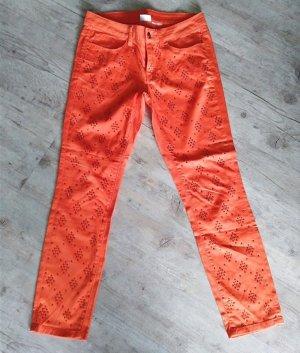 Alba Moda Pantalon en jersey multicolore