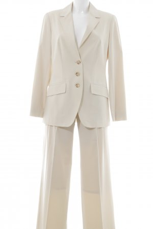 Alba Moda Trouser Suit pale yellow business style