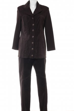 Alba Moda Hosenanzug schwarzbraun extravaganter Stil
