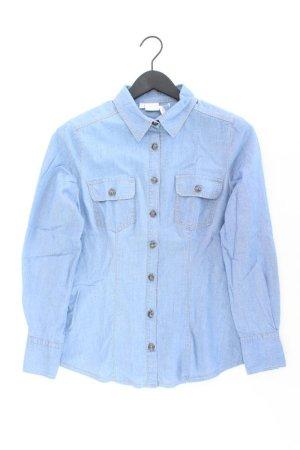 Alba Moda Blouse blue-neon blue-dark blue-azure cotton