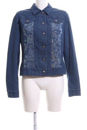 Alba Moda Jeansjacke blau Casual-Look