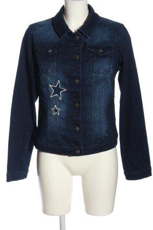Alba Moda Jeansowa kurtka niebieski W stylu casual
