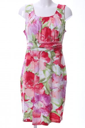 Alba Moda Jerseykleid Blumenmuster Casual-Look