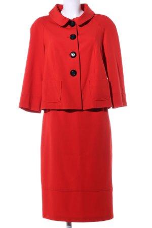 Alba Moda Damespak rood casual uitstraling