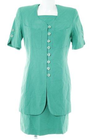 Alba Moda Traje para mujer verde elegante