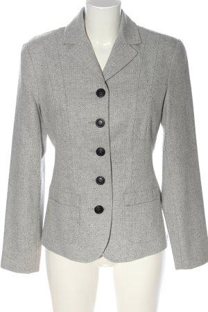 Alba Moda Short Blazer light grey-natural white flecked business style