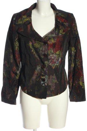Alba Moda Korte blazer abstract patroon casual uitstraling