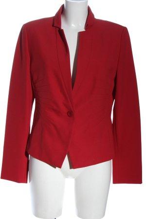 Alba Moda Kurz-Blazer rot Casual-Look