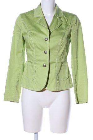 Alba Moda Korte blazer groen casual uitstraling