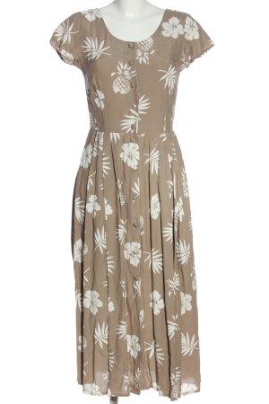 Alba Moda Shortsleeve Dress natural white-white allover print casual look