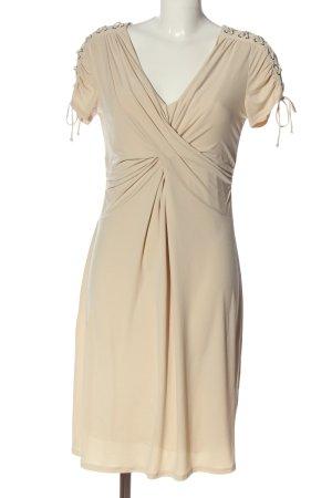 Alba Moda Kurzarmkleid creme Elegant