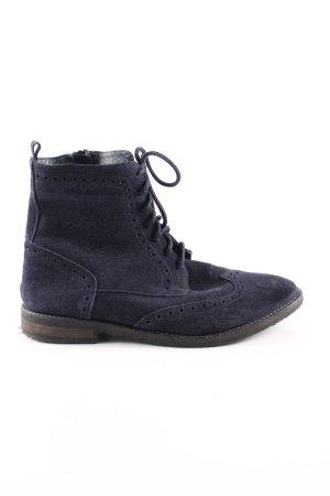 Alba Moda Short Boots blue casual look