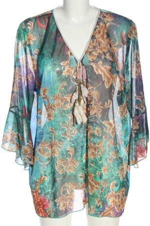 Alba Moda Long Sleeve Blouse allover print elegant