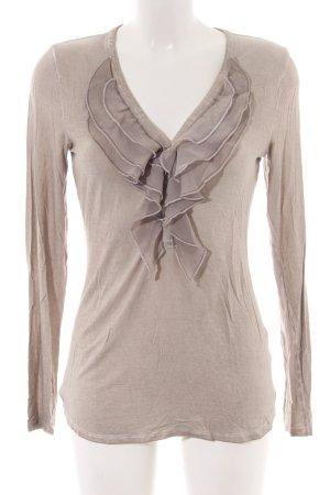 Alba Moda Langarm-Bluse nude Casual-Look