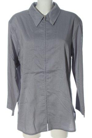 Alba Moda Camicetta a maniche lunghe grigio chiaro stile casual
