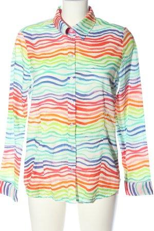 Alba Moda Long Sleeve Shirt allover print casual look