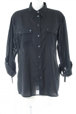 Alba Moda Langarmhemd schwarz Casual-Look