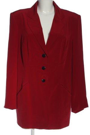 Alba Moda Blazer lungo rosso stile professionale
