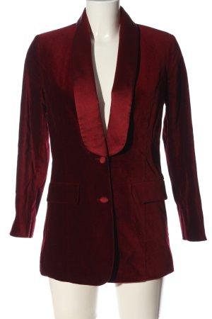 Alba Moda Long-Blazer rot Casual-Look