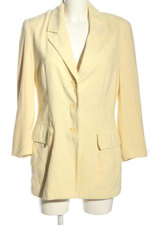 Alba Moda Lange blazer sleutelbloem zakelijke stijl