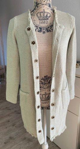 Alba Moda Veste longue multicolore coton