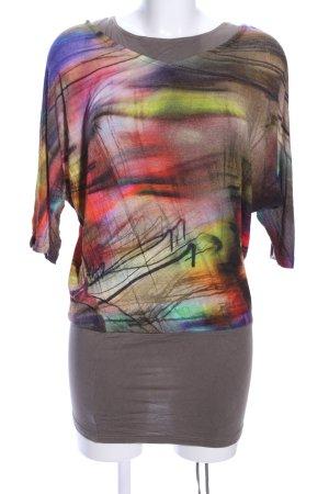 Alba Moda Longshirt abstraktes Muster Casual-Look