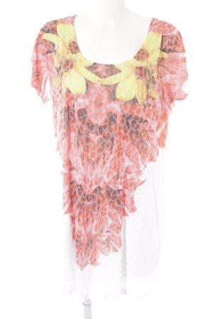 Alba Moda Longshirt Blumenmuster Casual-Look