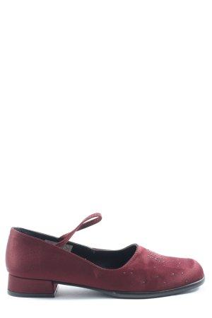 Alba Moda Escarpins Mary Jane rouge style décontracté