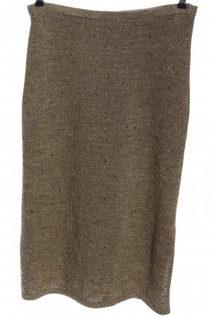Alba Moda Maxi Skirt brown flecked casual look