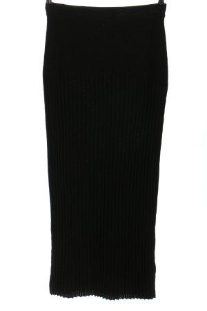 Alba Moda Maxi rok zwart zakelijke stijl