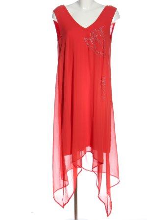 Alba Moda Robe mi-longue rouge style décontracté