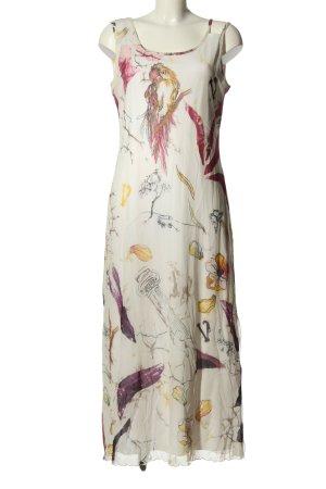 Alba Moda Vestido a media pierna estampado con diseño abstracto look casual