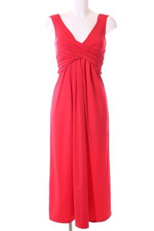 Alba Moda Robe mi-longue rouge élégant