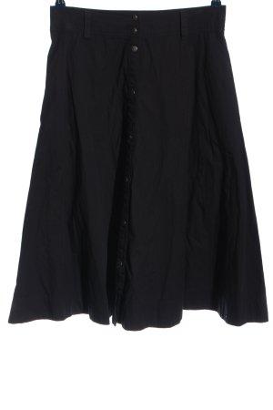 Alba Moda Spódnica midi czarny W stylu casual