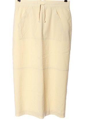 Alba Moda Spódnica midi kremowy W stylu casual