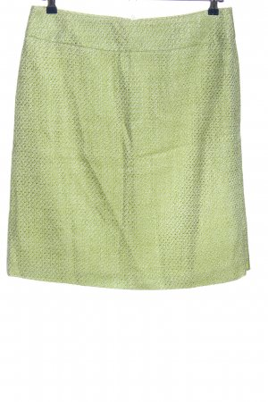 Alba Moda Mini-jupe vert imprimé allover style décontracté