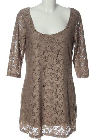 Alba Moda Mini-jurk bruin casual uitstraling